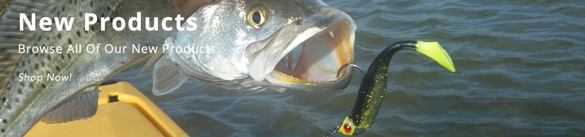 Chicky Tackle New Products Banner